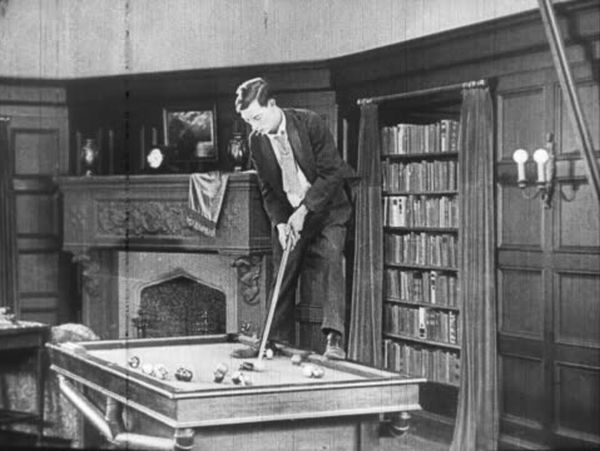 Library pool: Some would be better off putting them than potting them!